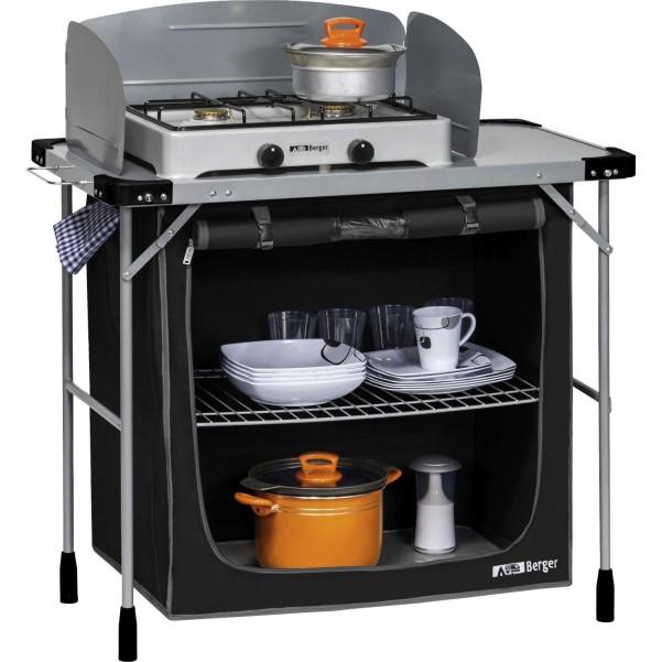 Table de cuisson Berger en acier