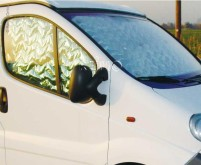 Isoflex Thermomatte 3-teilig, Renault Trafic/Opel  Vivaro >2015
