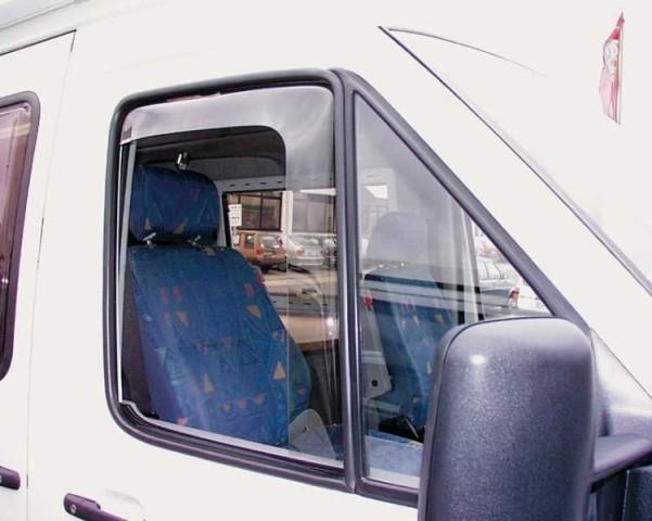 Windschutz bei geöffneten Fenster