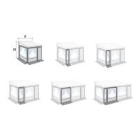 Fiamma Privacy Room / Caravanstore ZIP XL Frontpanel für Markisenvorzelte 50 cm 50 cm | F45