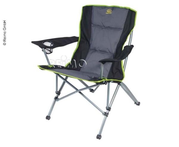 Chaise pliante SALVADOR rembourrée, siège:L58xP39c m, hauteur du siège 47cm