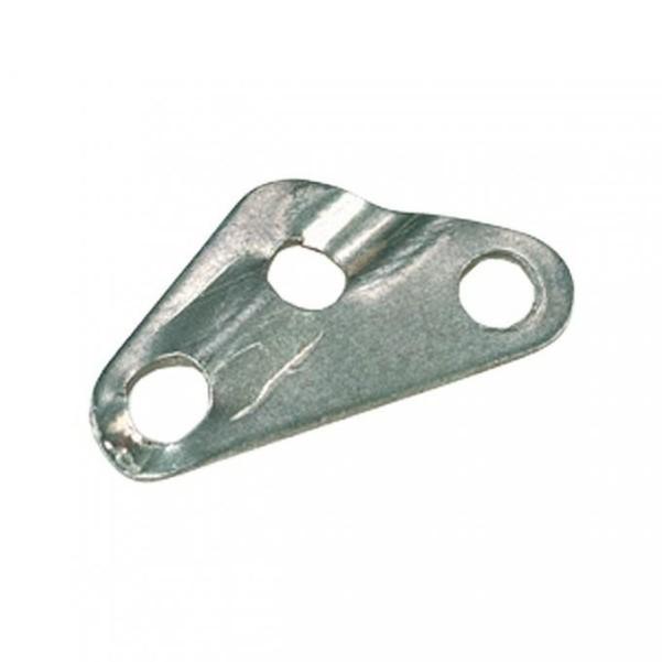 Tendeur de cordon Berger 3 trous aluminium Ø 5,3 mm (jeu de 10)