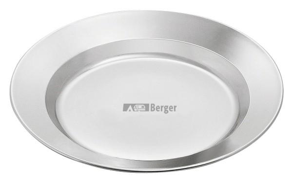 Plaque d'acier inoxydable Berger