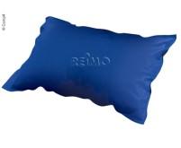 Selbstaufblasendes Komfort-Kopfkissen, 50x31x10 cm , blau
