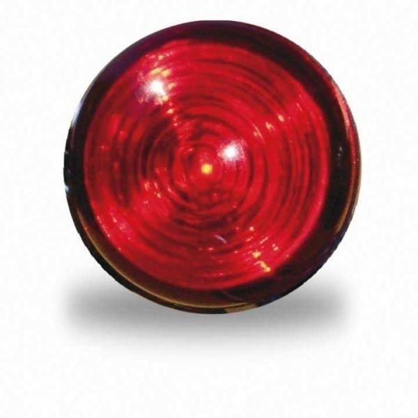 LED-Schlussleuchte Einbau, D=30mm, rot, Kabel 250m m lose