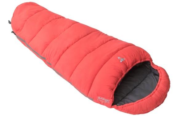 Vango Kids Maman sac de couchage rouge