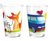 Lot de 2 lunettes pour enfants, motif:WE LOVE CAMPING, matériau : SAN