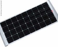 Solarpanel 12V / 80W inkl. Halterungen, monokrista lline Zellen