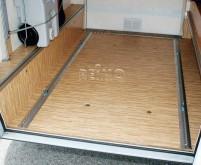 Kit de fixation Garage Bars Premium 2 rails a.60 cm