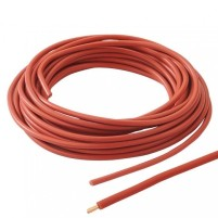 Fil PVC rouge