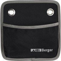 Berger Milo 1 sac à suspendre noir noir, gris