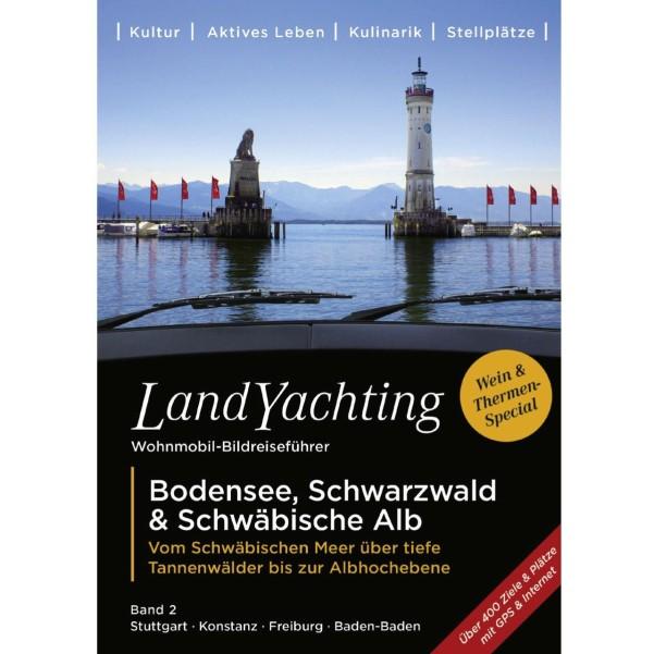 Buch Landyachting Bodensee, Schwarzwald & Schwäbische Alb Bodensee / Schwarzwald