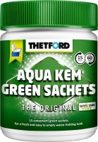 Thetford Aqua Kem Green Sachets 15 Tabs Sanitärzus