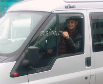 Déflecteur de vent fenêtre latérale Ford Custom ab Bj. 2013