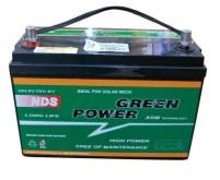 Green Power AGM Batterie 100Ah, LxBxH$ 327x172x245 mm, 29,4kg