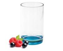 Verre à boire Gimex en SAN, fond turquoise, 250 ml