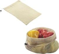 Metaltex Baumwoll Obst- und Gemüsenetz