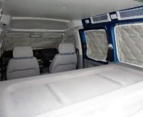 Thermomatte für VW Caddy rundum für kurzen Radstan d