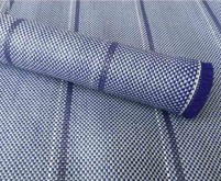 Zeltteppich Arisol Standard, blau 2,5x4,0m