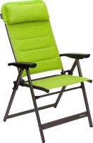 Chaise pliante Berger Slimline Vert, Noir