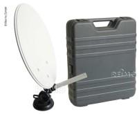 Sat-Schüssel Standard, Megasat im Campingkoffer