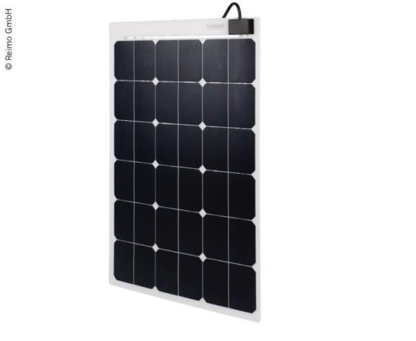 Solarpanel flexibel 80W, 1000x550x3mm, 8m Kabel, E TFE+TPT, weiss