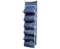 Utensilo WANDA armoire à chaussures, avec fermeture à crochets, bleu