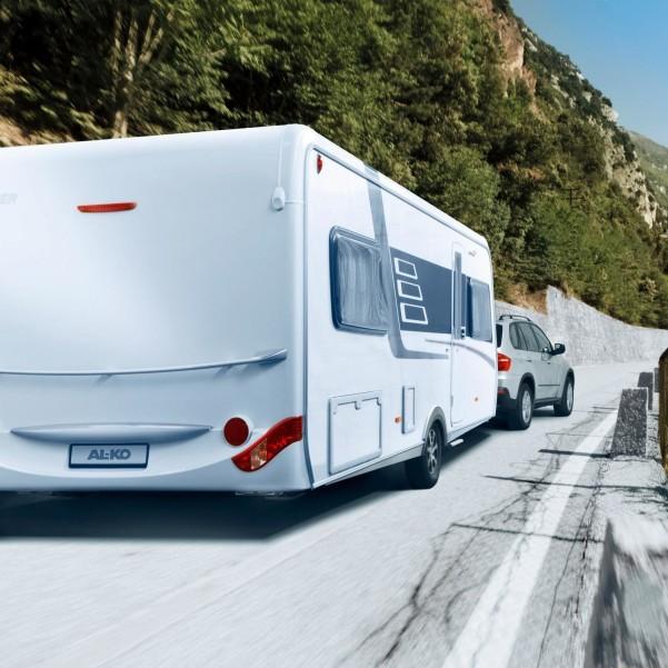 Système antidérapant AL-KO ATC Trailer Control pour caravane essieu tandem 1600 kg