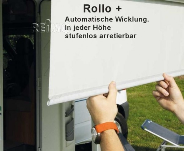 Mark.Prostor Rollo 2,65m Gehäuse silber