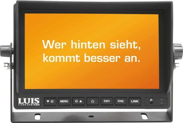 """LUIS 7""""-Rückfahrsystem Basic weiss"""