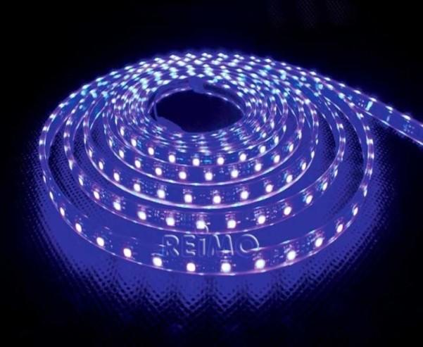 Carbest LED-Band, 60 LED/m, blau 83 Lumen/m, gut m it Controller 831003