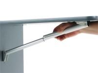 Support pliable en aluminium 252mm