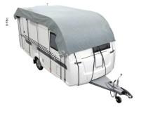 Auvent de caravane 755x300cm, gris