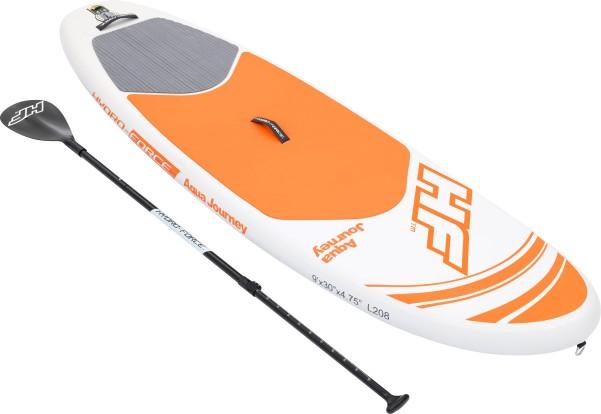 Bestway Aqua Journey SUP aufblasbares Stand Up Paddling-Board Set