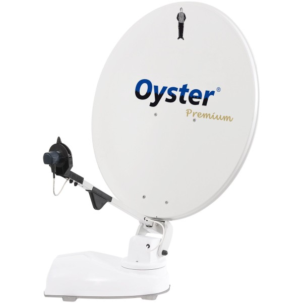 "Système satellite Oyster 85 Premium TWIN + 21,5"" TV"