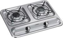 Dometic plaque de cuisson à gaz à 2 brûleurs HB 2325