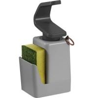 Metaltex Soap Tex distributeur de savon avec support pour éponge et anneau