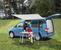 CHARLYNE 1.8, mini camping-car à espace réduit, 1,8x2,4m