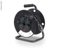 Tambour de câble avec 4 prises de terre, 25m de câble, H0 5RR-F 3x1,5mm²