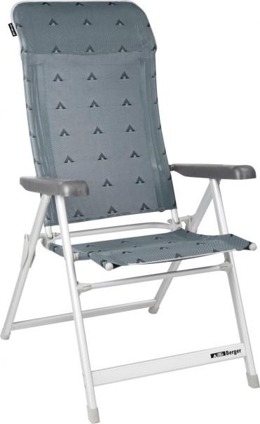 Berger Klappsessel Luxus Grau