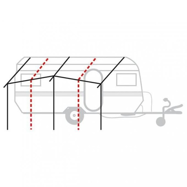 Berger base échafaudage acier 25 mm | acier