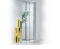 Rideau de porte anti-moustique 95x220cm 3 lames télescopiques