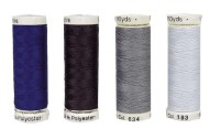 Nähgarn 100% Polyester, 200m, Grau