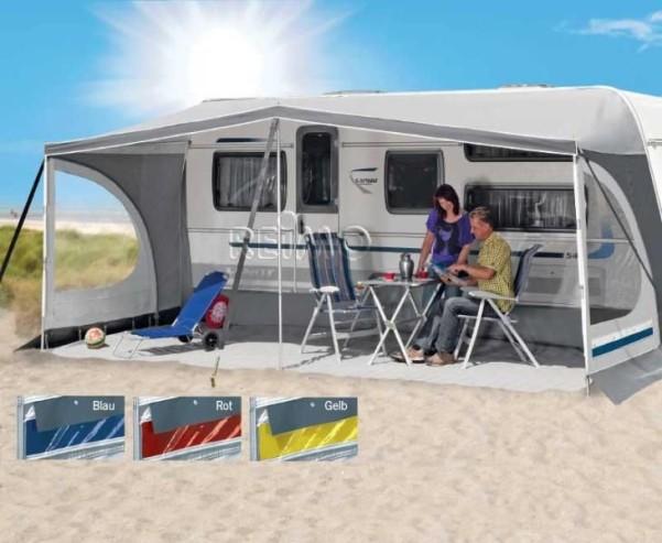 Pare-soleil de caravane Bermuda G6 avec 3 mâts sans barres transversales