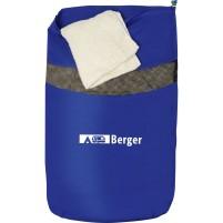 Sac à linge Berger bleu