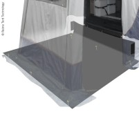 Boden f.Heckzelte Trapez+Vertic Trafic und Hiace 2 50x220cm