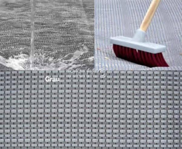 Zeltteppich Awning Mat DELUXE 5,5x3m grau