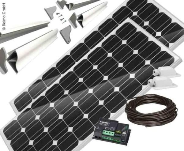 Solaranlage Carbest 2x120 Watt CB-240 Set