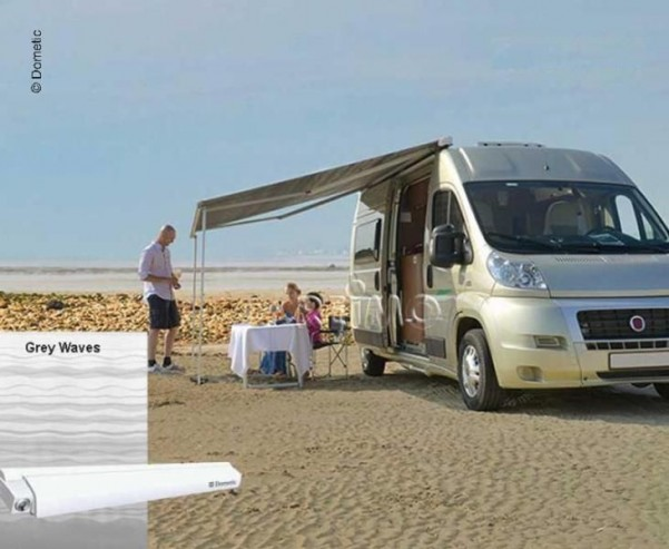 Perfect Roof 2000, 3,5 Gehäuse weiss Tuch:Grey Wave s