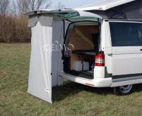 Tente arrière INSTANT pour VW T5, longueur 135 x largeur 170 /112 x hauteur 195cm
